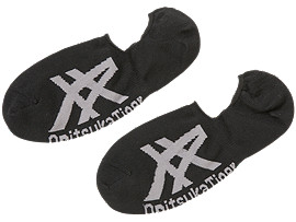 INVISIBLE SOCKS, PERFORMANCE BLACK/DARK GREY