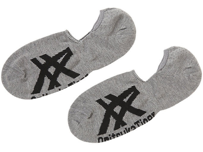 INVISIBLE SOCKS, DARK GREY/PERFORMANCE BLACK