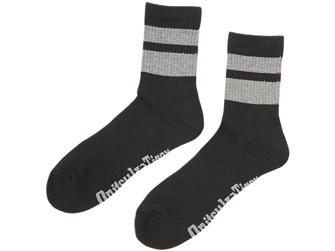 MIDDLE SOCKS, PERFORMANCE BLACK