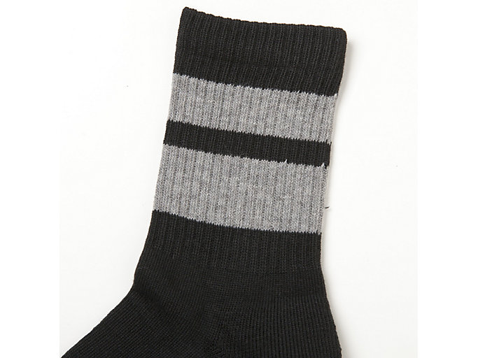 Alternative image view of MIDDLE SOCKS, PERFORMANCE BLACK
