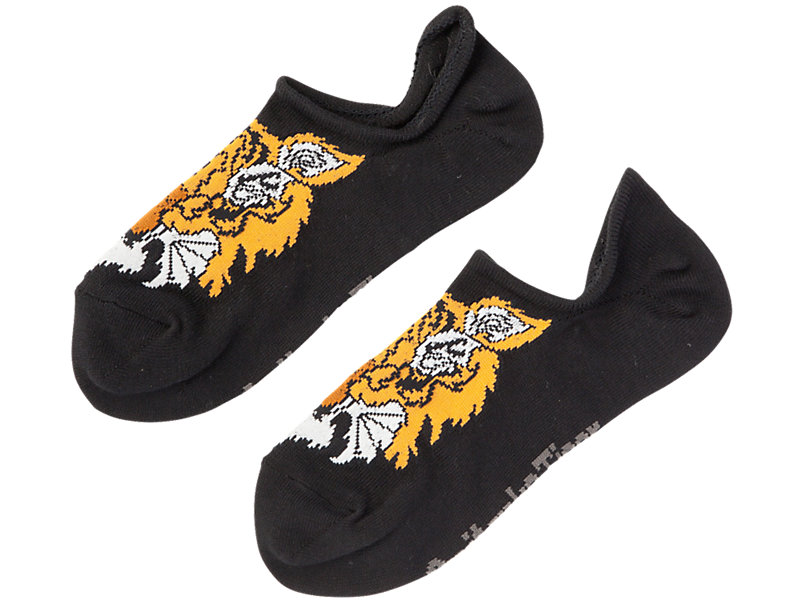 INVISIBLE SOCKS PERFORMANCE BLACK 1 FT