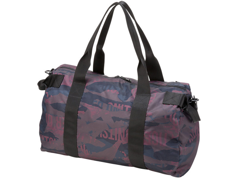 Printed Travel Bag BURGUNDY 5 BK