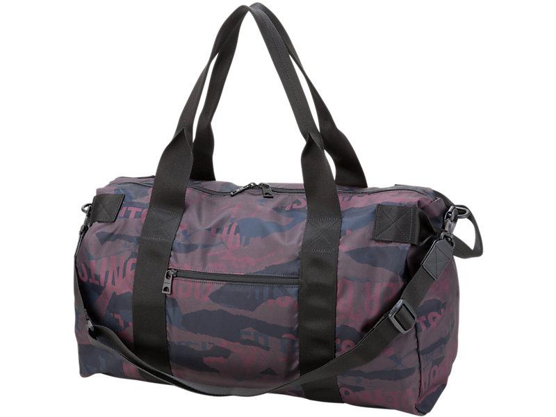 Printed Travel Bag BURGUNDY 1 FT