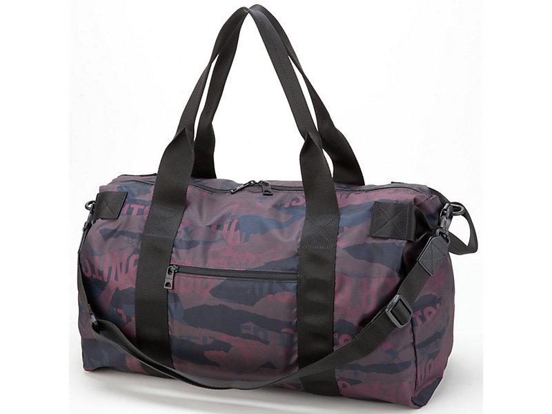 Printed Travel Bag BURGUNDY 9 Z