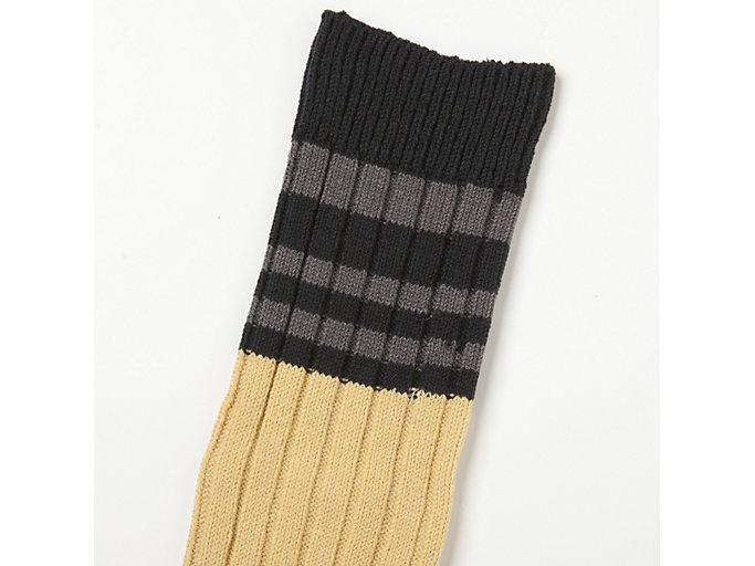 Alternative image view of MIDDLE SOCKS, VIBRANT YELLOW/PERFORMANCE BLACK