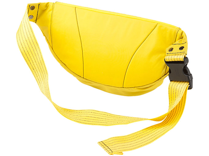 Back view of WAIST POUCH, TAI-CHI YELLOW