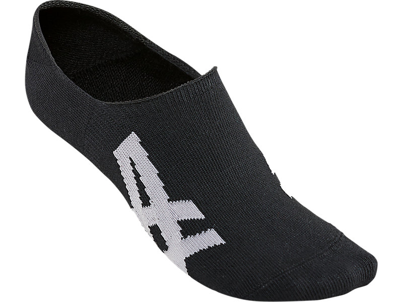 INVISIBLE SOCKS PERFORMANCE BLACK/FEATHER GREY 1 FT
