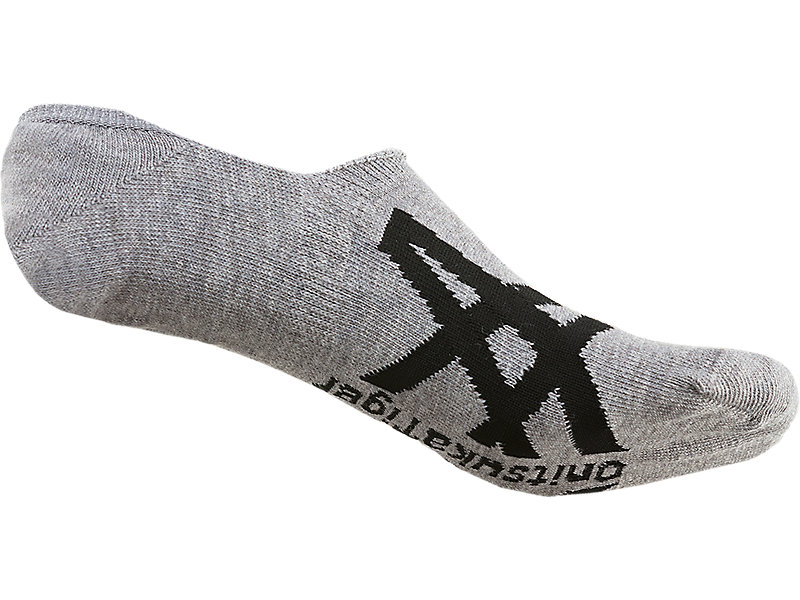 Invisible Socks Feather Grey/Performance Black 5 BK