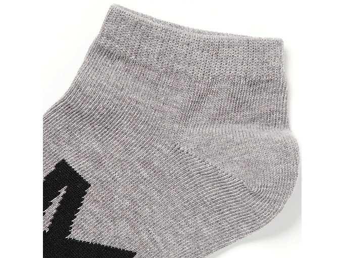 Alternative image view of ANKLE SOCKS, FEATHER GREY/PERFORMANCE BLACK