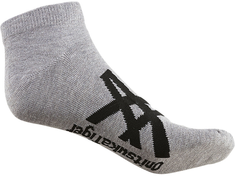 ANKLE SOCKS FEATHER GREY/PERFORMANCE BLACK 5 BK