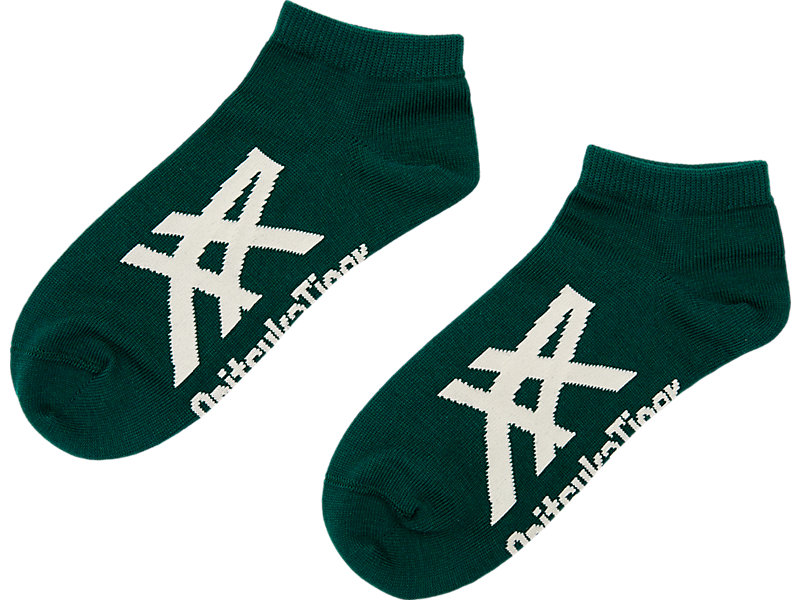 ANKLE SOCKS GREEN/IVORY 1 FT