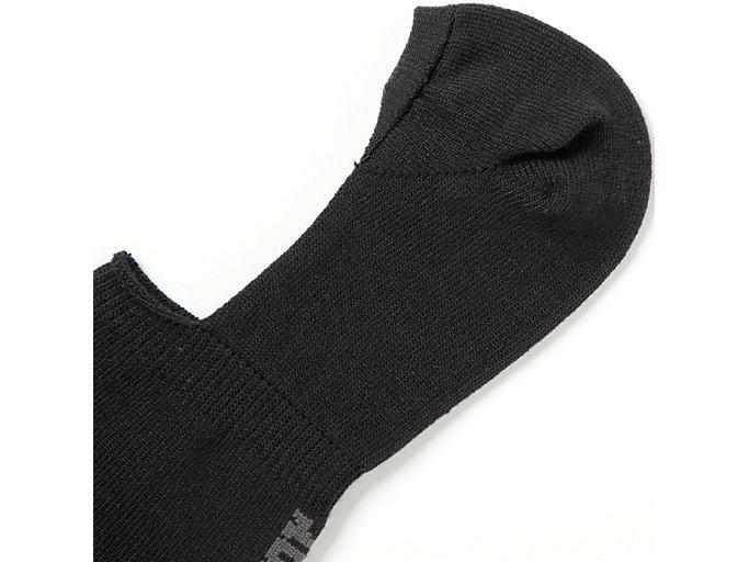 Alternative image view of INVISIBLE SOCKS, PERFORMANCE BLACK/KHAKI