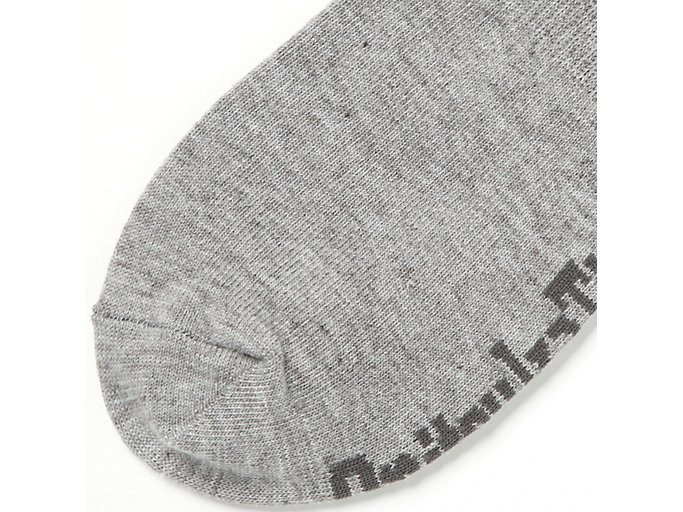 Back view of INVISIBLE SOCKS, FEATHER GREY/KHAKI