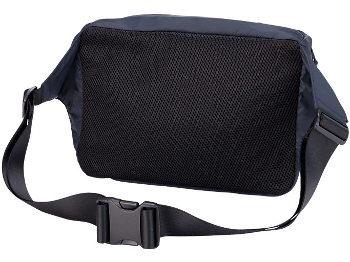 Back view of WAIST POUCH, PERFORMANCE BLACK