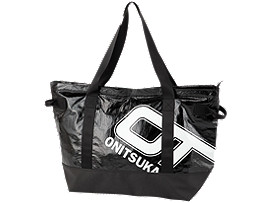 Front Top view of LARGE TOTE BAG, PERFORMANCE BLACK