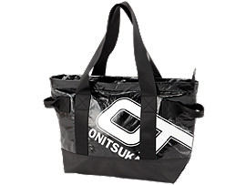Front Top view of TOTE BAG, PERFORMANCE BLACK