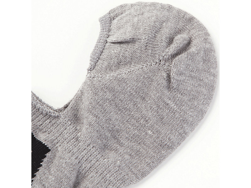 Invisible Sock FEATHER GREY/PERFORMANCE BLACK 9 Z
