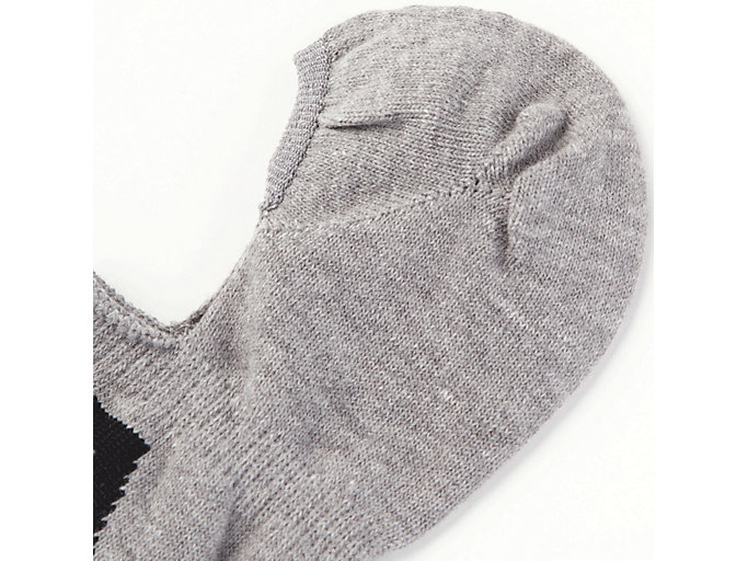 Alternative image view of Invisible Sock, FEATHER GREY/PERFORMANCE BLACK