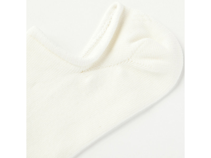 INVISIBLE SOCK WHITE/RED 9 Z