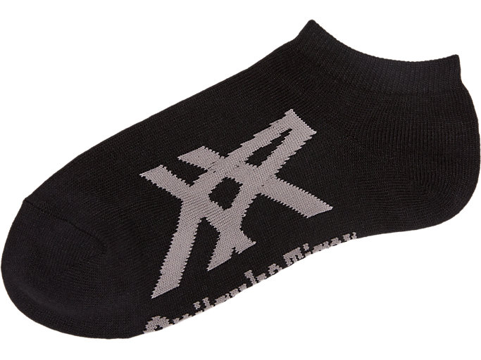 Side view of Ankle Sock, PERFORMANCE BLACK/FEATHER GREY