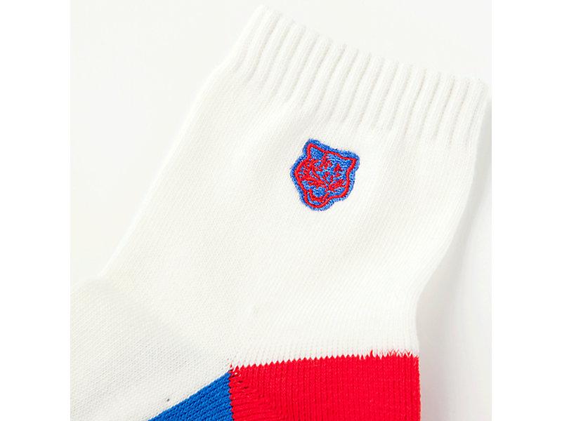 Short Sock REAL WHITE 13 Z