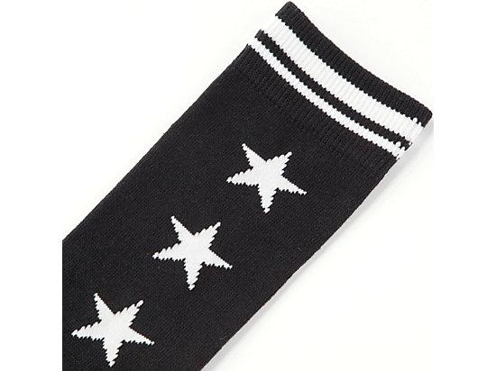 襪子 WHITE/BLACK