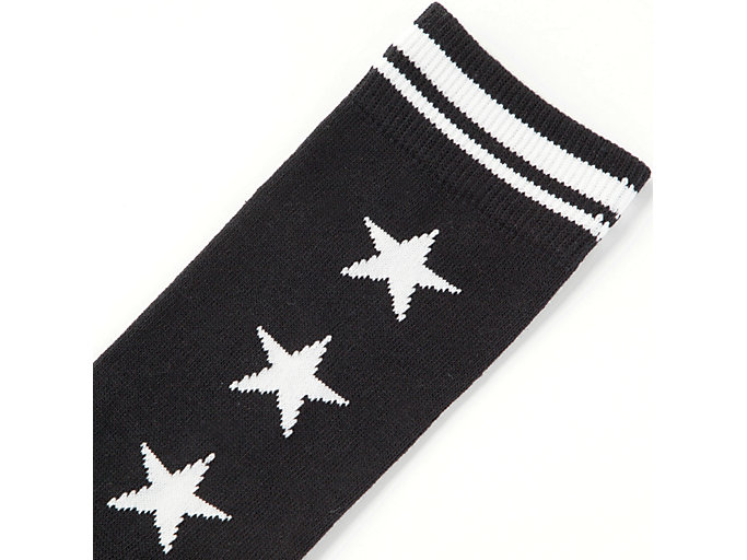 Alternative image view of MIDDLE SOCK, REAL WHITE/PERFORMANCE BLACK