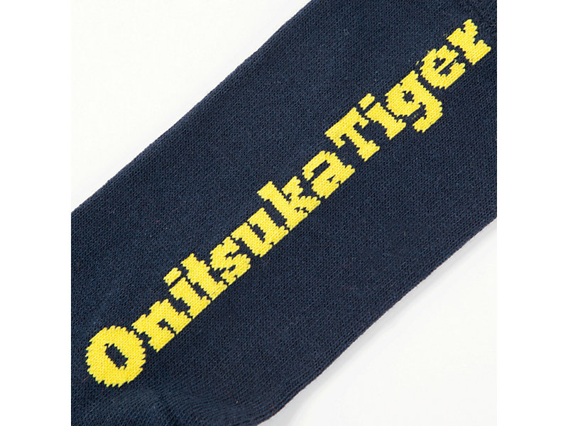 MIDDLE SOCK NAVY/YELLOW 9 Z