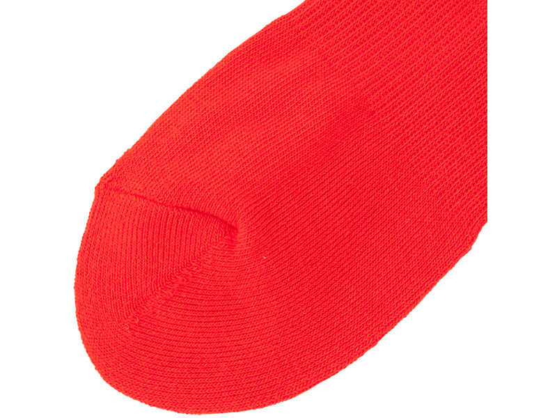 MIDDLE SOCK RED/WHITE 5 BK