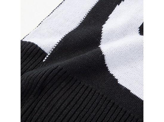 SCARF BLACK/WHITE
