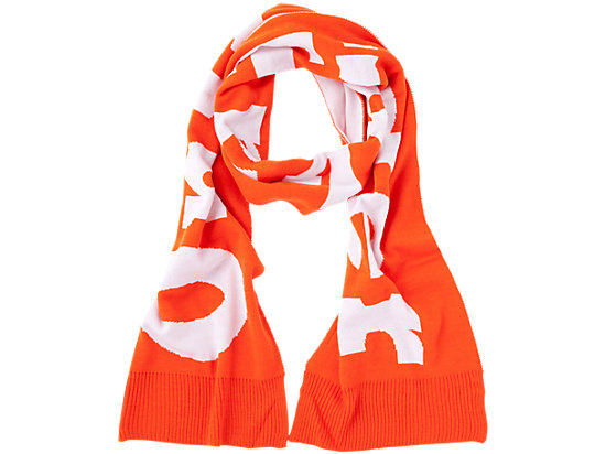 SCARF ORANGE/WHITE