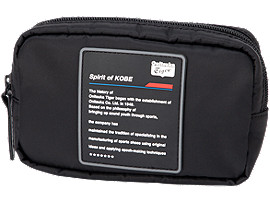 Front Top view of BEAUTY BAG, PERFORMANCE BLACK