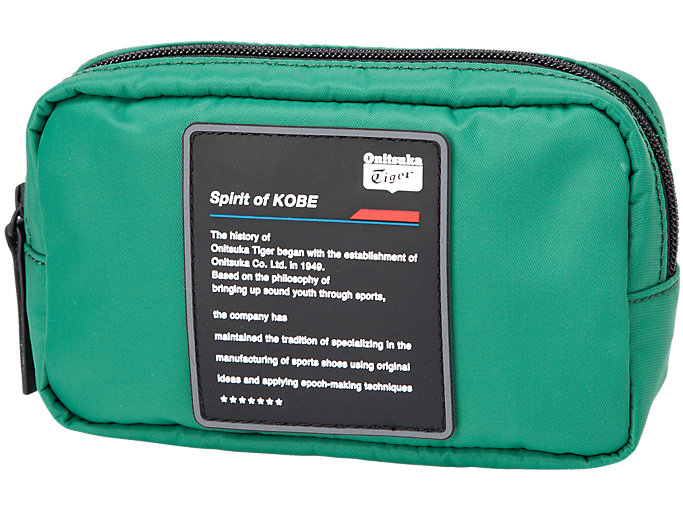 Front Top view of BEAUTY BAG, GREEN