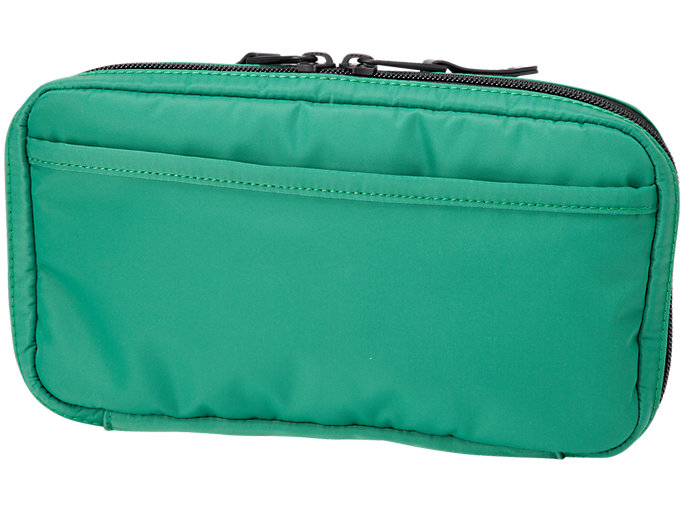 Back view of SMALL ORGANIZE CASE, GREEN