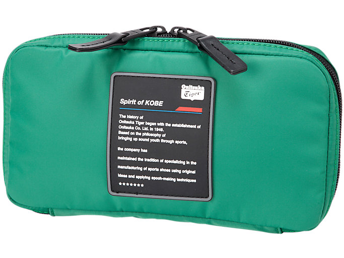Front Top view of SMALL ORGANIZE CASE, GREEN