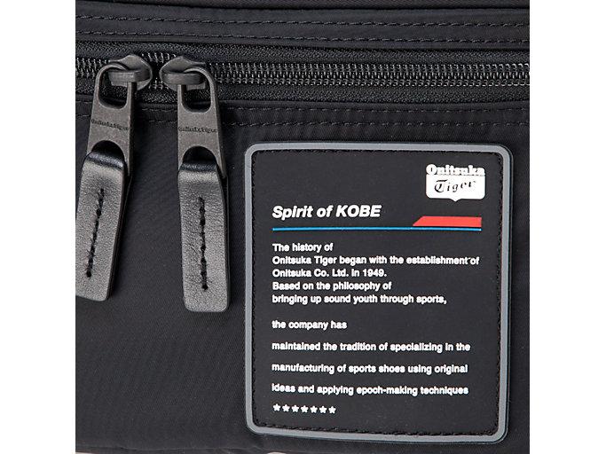 Alternative image view of WAIST BAG, PERFORMANCE BLACK