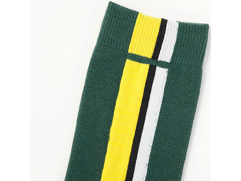 Middle Sock GREEN/YELLOW 9 Z