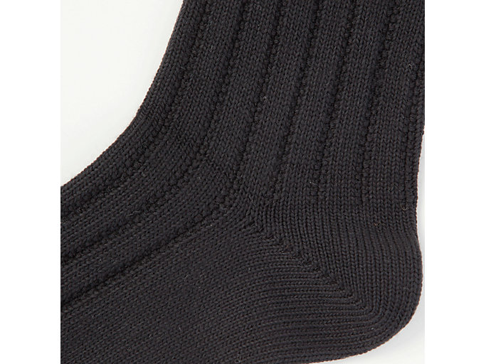 Alternative image view of MIDDLE SOCK, PERFORMANCE BLACK/REAL WHITE