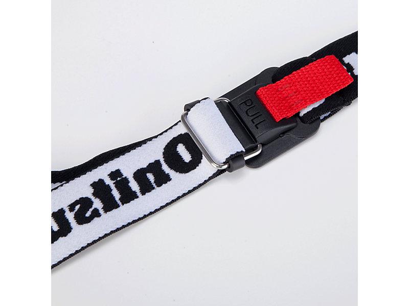 Belt PERFORMANCE BLACK/REAL WHITE 9 Z