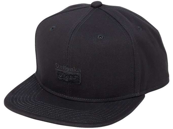 Front Top view of CAP, PERFORMANCE BLACK