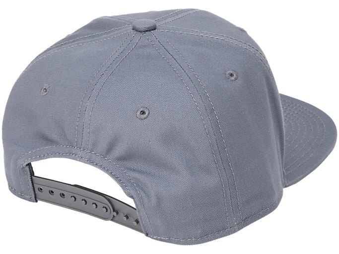 Back view of CAP, DARK GREY