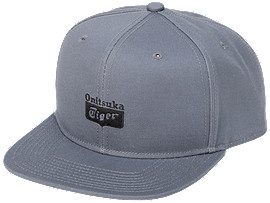 Front Top view of CAP, DARK GREY