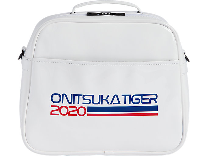 Front Top view of BOWLING BAG, REAL WHITE