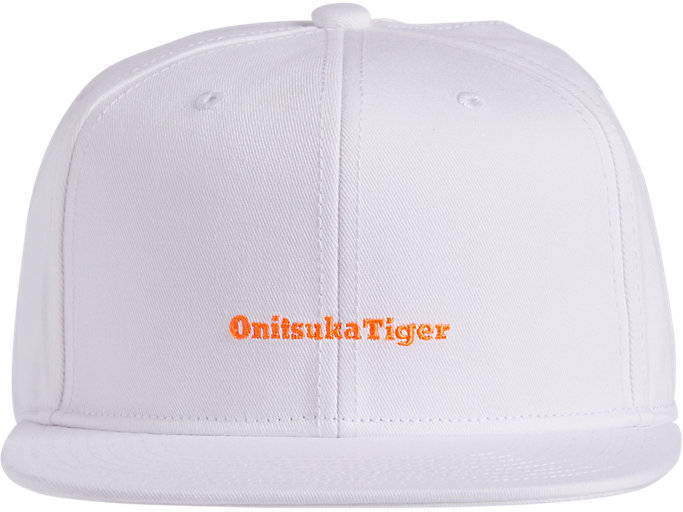 Front Top view of CAP, REAL WHITE