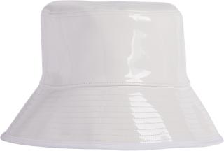 ENAMEL PLAIN HAT