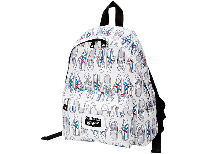Front Top view of BACK PACK KIDS, REAL WHITE