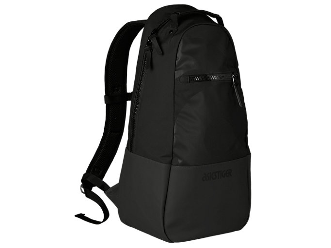 Front Top view of BL Backpack, PERFORMANCE BLACK