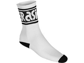LT Crew Socken, BRILLIANT WHITE/P.BLACK