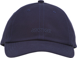 Front Top view of OP Dad Hat, MIDNIGHT