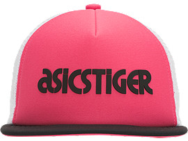 Front Top view of Logo Cap, ROUGE